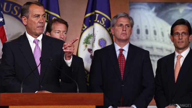 House GOP signals openness to backup debt plan