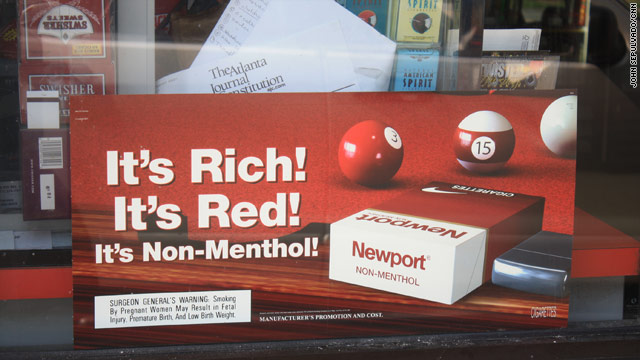 Menthol: The 'gateway' cigarettes?