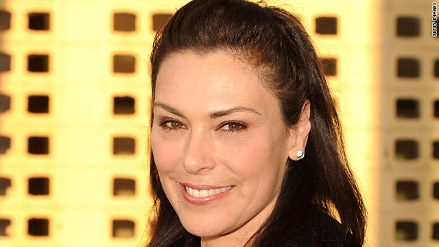 'The Killing's' Michelle Forbes relaxes amid nomination