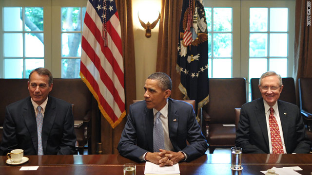Obama outlooks Friday deadline for debt negotiations