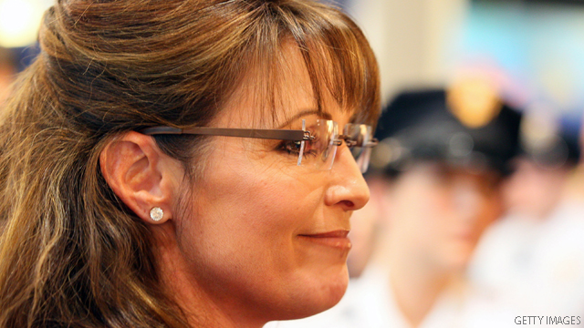 Palin raises over $1.6 million