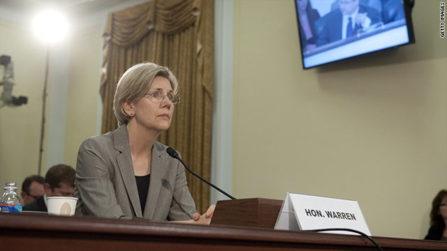 Elizabeth Warren vs. House GOP, round 3