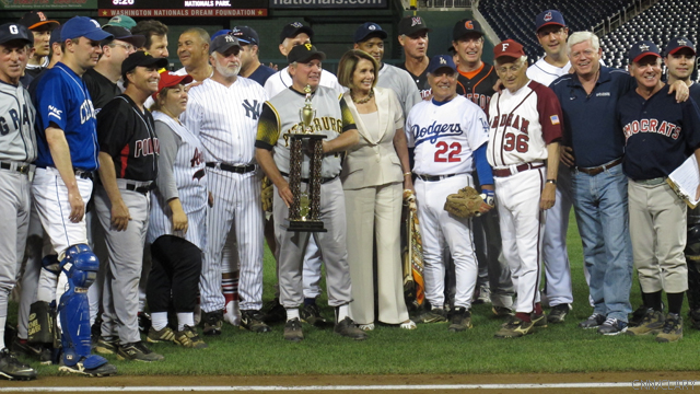 Democrats best Republicans in Congressional baseball