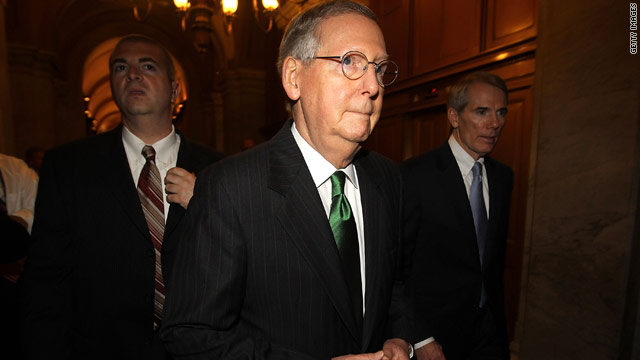 Conservative group slams McConnell for &#039;dereliction of duty&#039;