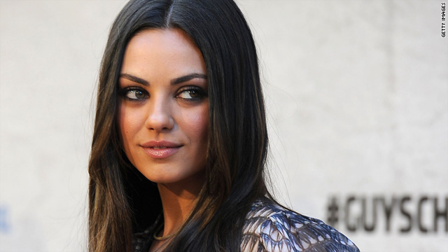Mila Kunis is officially going to Marine ball