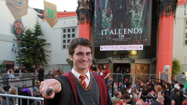 Latest 'Potter' film brings in $43.5 million