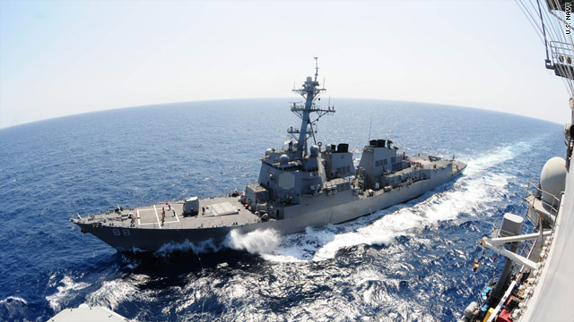U.S. warships arrive in Vietnam