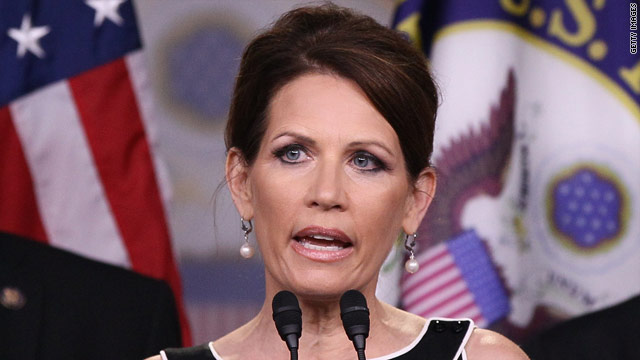 Bachmann changes tune on &#039;Cut, Cap and Balance&#039; pledge