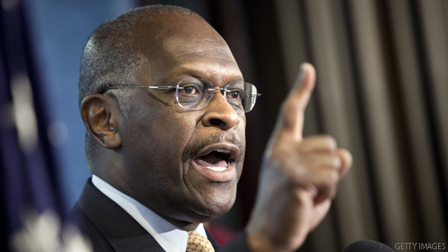 Cain: I'm more qualified than Bachmann