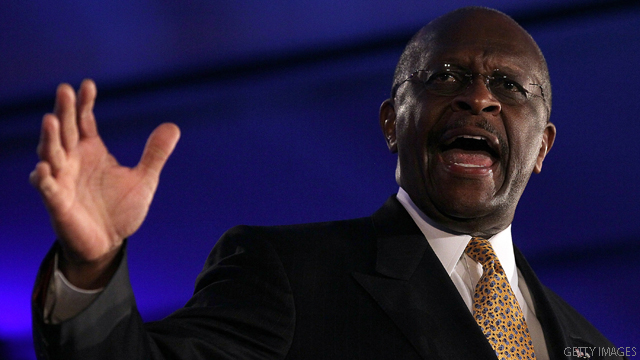 Cain: I'm 'not playing the race card' with Perry