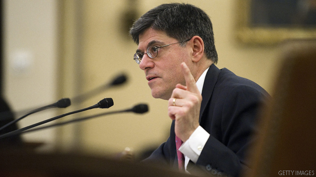 Meeting U.S. debt obligations is the only plan, Lew says