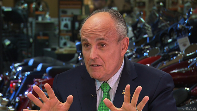Giuliani makes his presidential case