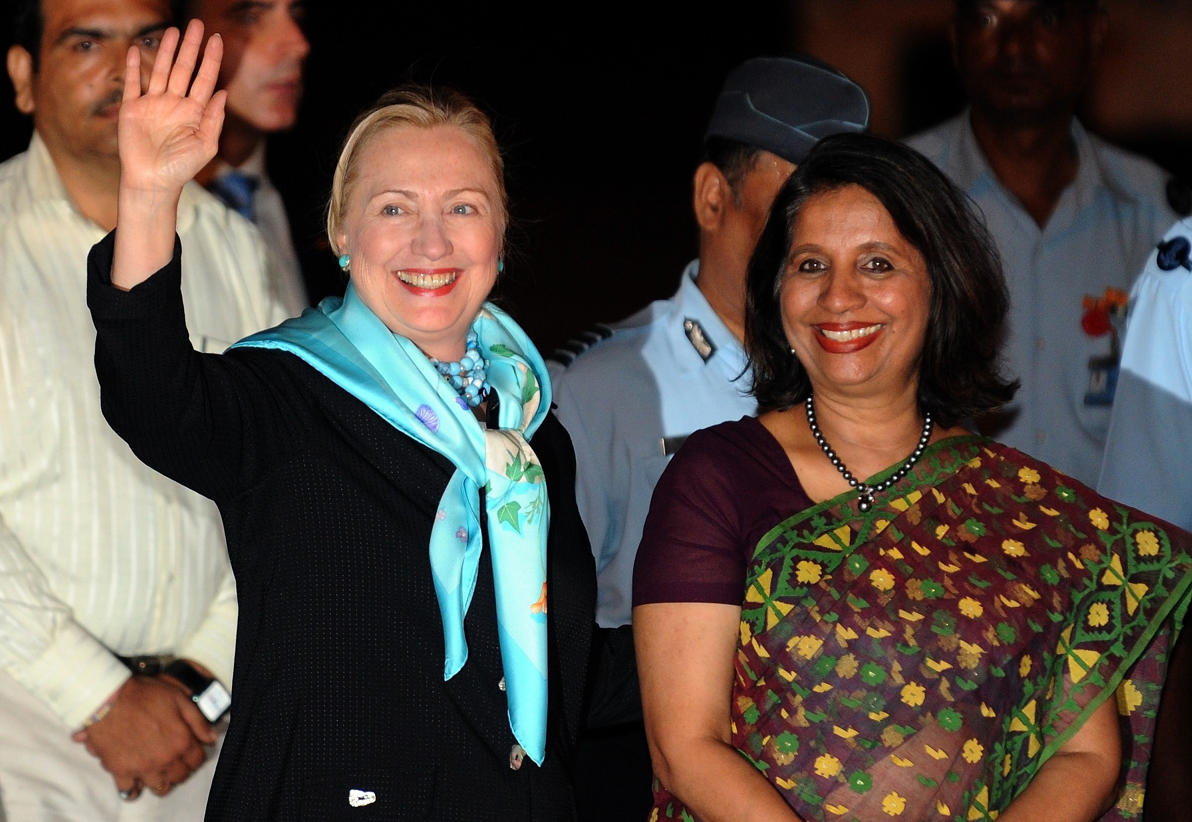 Security and economics top the agenda for Clinton visit to India