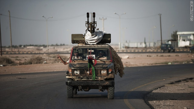 BLITZER'S BLOG: Should the Libyans pay for their liberation?