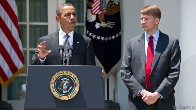 Obama nominates Ohio&#039;s ex-attorney general to lead consumer bureau