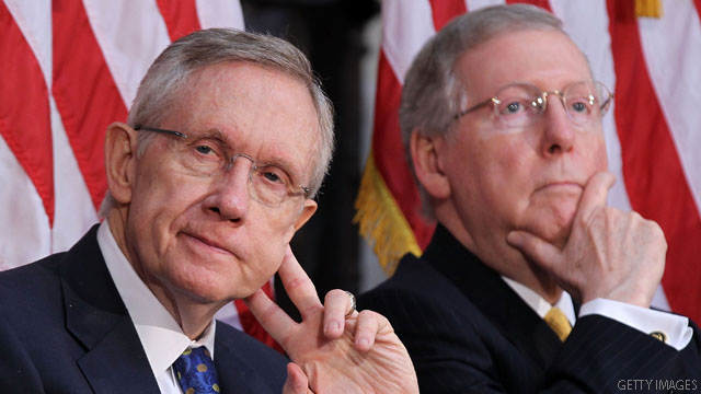 McConnell, Reid tweaking debt limit fallback plan to boost its chances