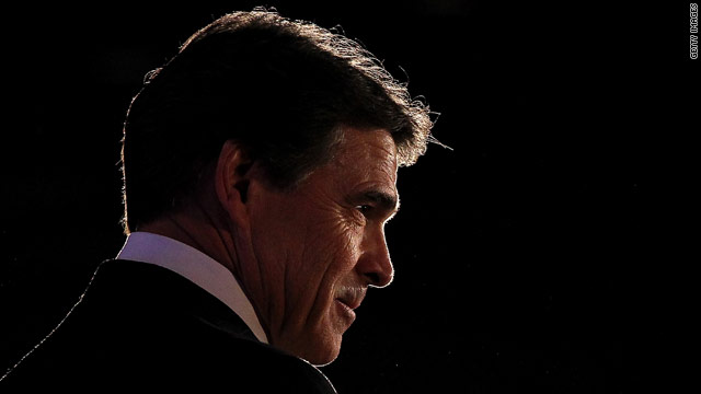 Perry near the top in GOP 2012 race in second straight poll