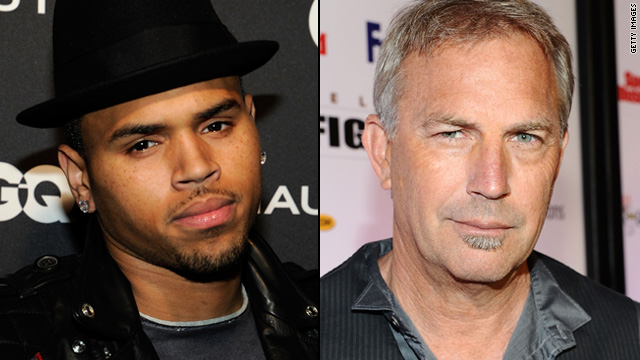 Chris Brown lands 'Think Like a Man,' Costner in talks for 'Django'