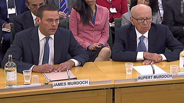 Rupert Murdoch y su hijo testifican sobre el escándalo de escuchas