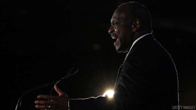 Cain: Romney can't win