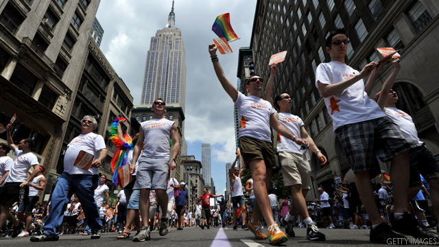 New York hosts marriage lottery to accommodate gay couples