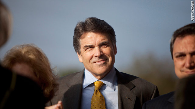 Perry to meet with GOP leaders in South Carolina