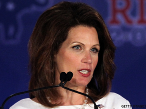 Republican presidential candidate U.S. Rep. Michele Bachmann (R-MN)