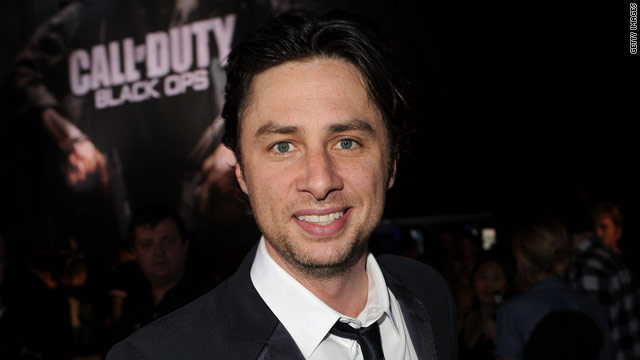 Zach Braff: I'm still straight