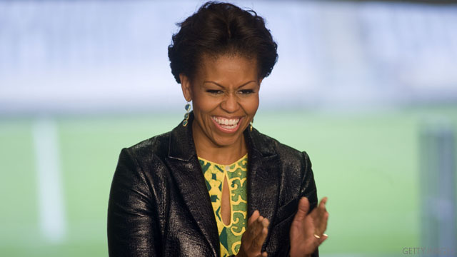 Michelle Obama heads to reality TV