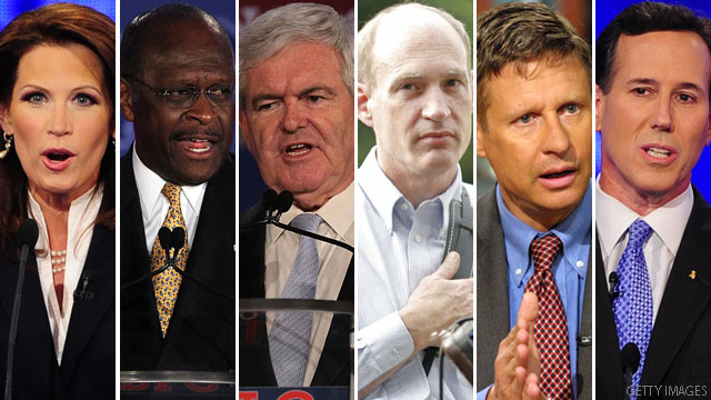 GOP hopefuls to Twitter debate after early snafus, confusion