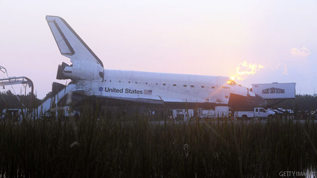 CNN Poll: 50 percent say ending shuttle program is bad for country