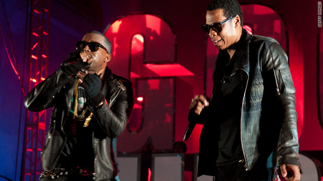 Jay-Z and Kanye's single 'Otis' hits Web