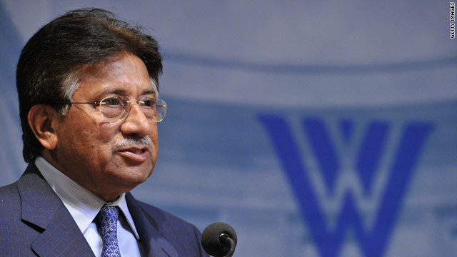 BLITZER&#039;S BLOG: Musharraf convinced Perry will run for president