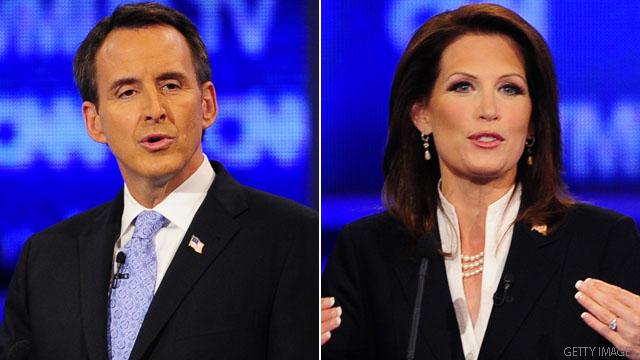 Pawlenty clarifies Bachmann jab