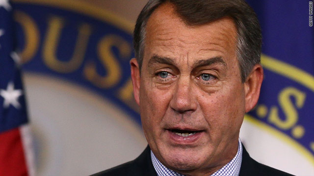 Before leaving town, Boehner puts fiscal cliff onus on Obama
