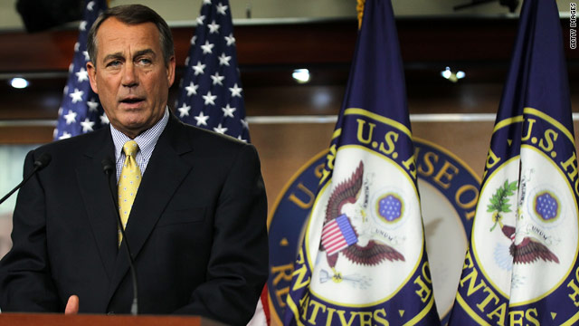 Boehner explains decision to end debt talks