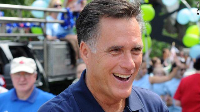 A night at the improv with Mitt Romney