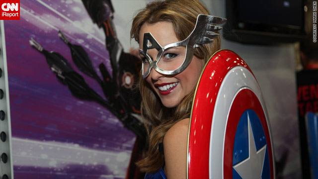 CNN iReport and costumes galore at Comic-Con 2011
