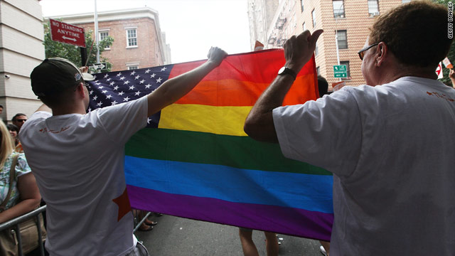 Poll: Men and women don't see eye to eye on same-sex marriage