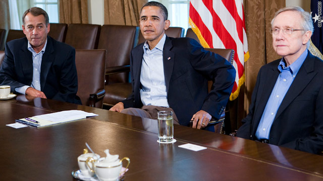 Obama held meeting with congressional leaders