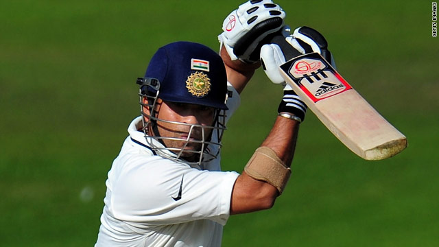 Sachin Tendulkar (pictured) has a very modest record at Lord's, the home of cricket.