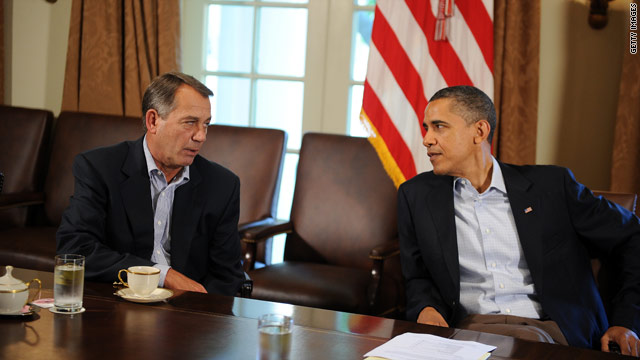 Boehner seeks debt-ceiling solution before Asian markets open