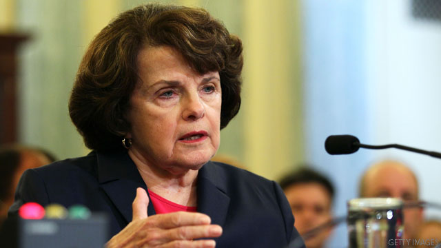Sen. Feinstein and aides freed from Capitol elevator