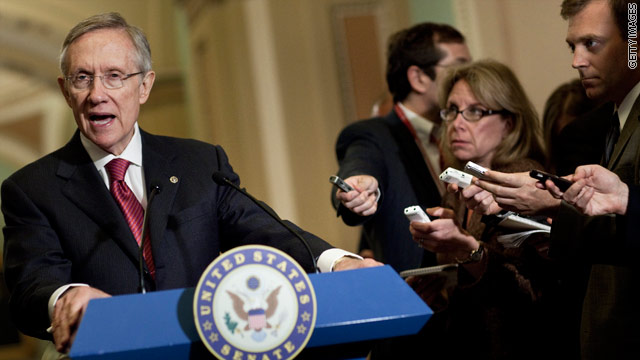 Facing impasse, Reid to offer his own plan