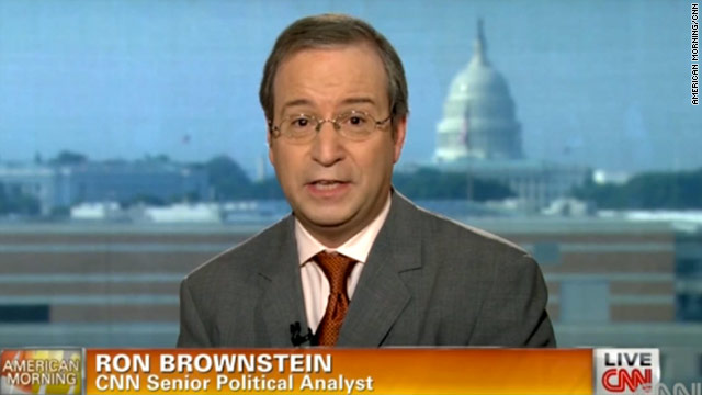 Ron Brownstein joins CNN's election team