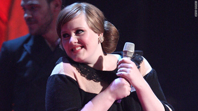 Adele: 'Grateful to be inspired by' Winehouse