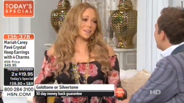 Mariah Carey returns with wacky HSN appearance