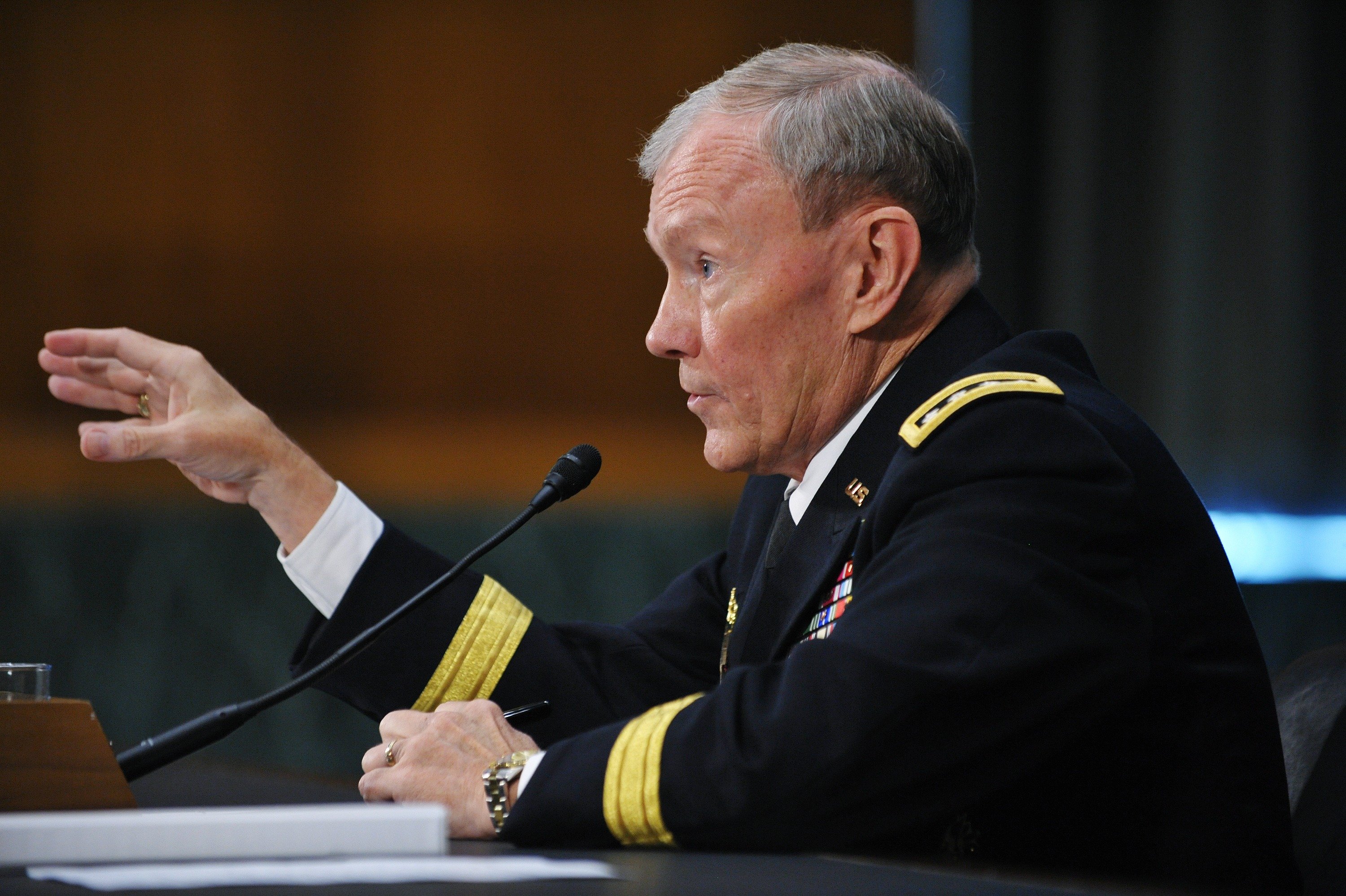 Dempsey confirmation hearing becomes a venue for venting about defense budget cuts