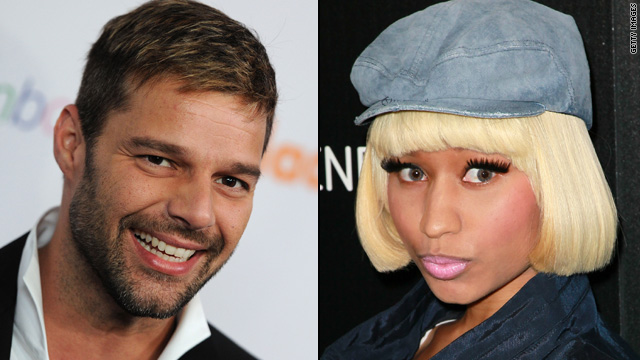 Ricky Martin, Nicki Minaj new faces of Viva Glam