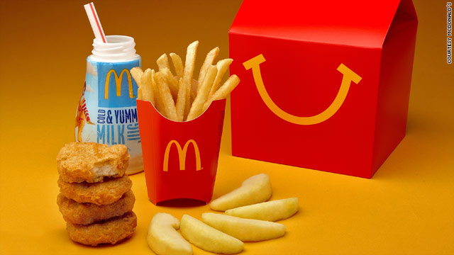 Happy Meal gets a makeover